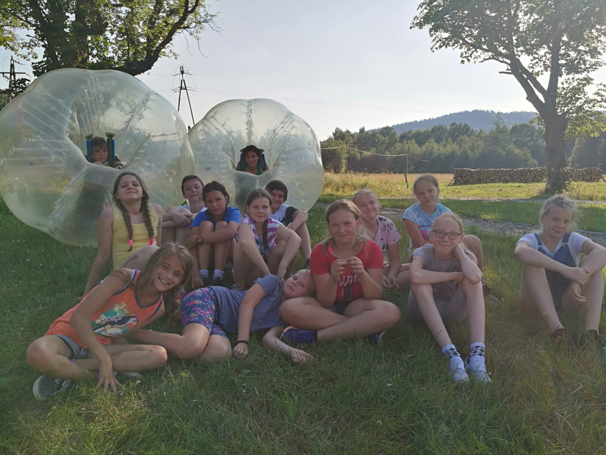 Bubble Football na Obozach i Koloniach